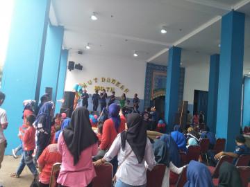 HUT DAMKAR Jakarta Barat Bersama Vitabumin